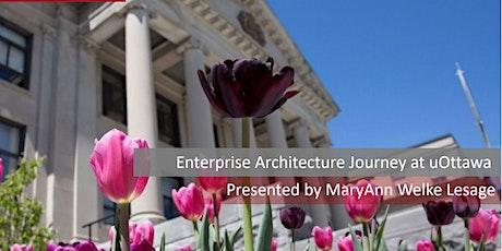 Enterprise Architecture Journey at uOttawa tickets