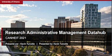 Research Administrative Datahub: uOttawa New Cloud Analytics Platform tickets