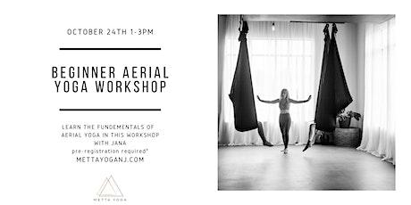 Beginner Aerial Yoga Workshop tickets