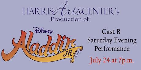 Aladdin Theater Camp CAST B EVENING tickets