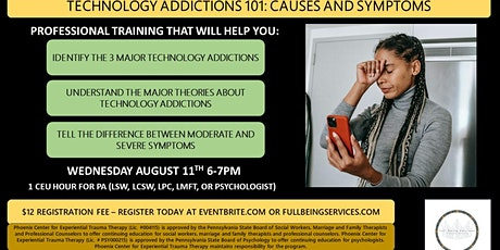 Technology Addictions101: Causes and Symptoms tickets