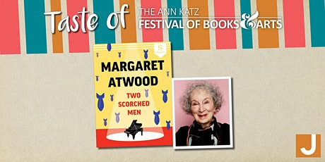 Virtual Taste of the Ann Katz Festival: Margaret Atwood tickets