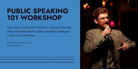 Public Speaking 101 Workshop tickets