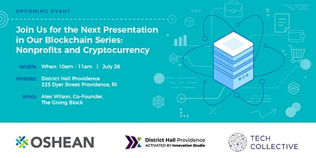 Nonprofits & Cryptocurrency tickets