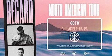 DJ Regard  @ Noto Philly October 8 tickets