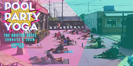 Pool Party Yoga tickets