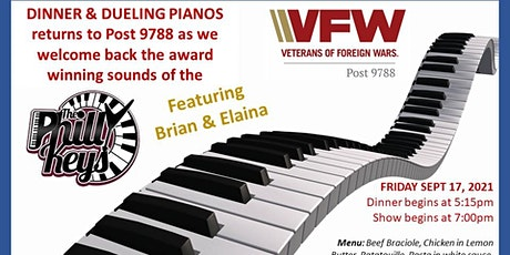 VFW Post 9788-Dinner & Dueling Pianos with the Philly Keys tickets