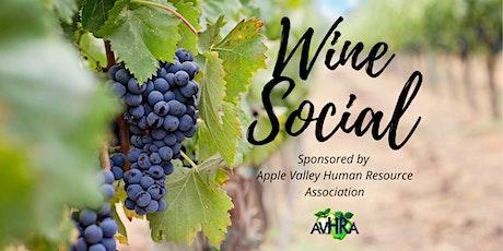 AVHRA - Wine Social Member Event tickets