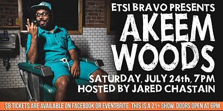 Akeem Woods Live Comedy Show tickets
