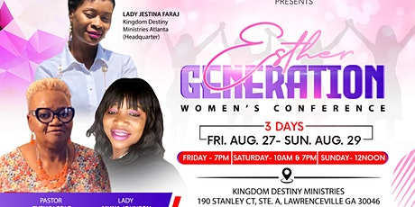 Esther Generation Women's Conference tickets
