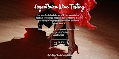 Argentinan Wine Tasting tickets