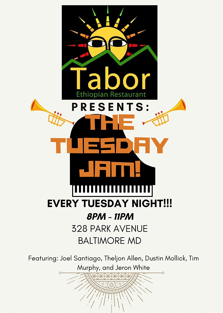 The Tuesday Jazz Jam: Baltimore! image