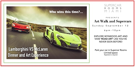 Supercar Rooms Presents 'The Supercar Dinner Experience' tickets