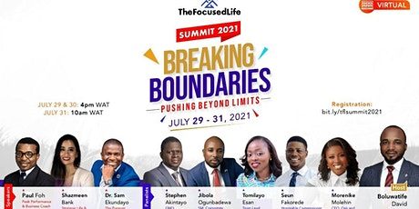 TheFocusedLife Summit 2021 tickets