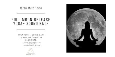 Full Moon Release Yoga + Sound Bath tickets