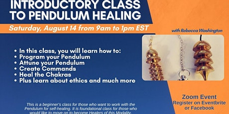 Introductory Class to Pendulum Healing tickets