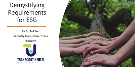 Demystifying Requirements for ESG (Environment, Social, Governance) tickets