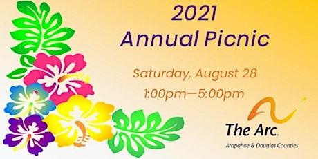 2021 Annual Picnic tickets