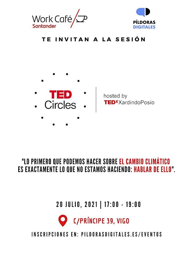 Imagen de TED Circles en WorkCafé Vigo