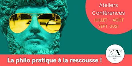 Platon, l'art de la justice - Atelier conférence billets