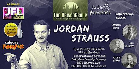 Brinco Group presents Jordan Strauss at Dakoda's Comedy Lounge tickets