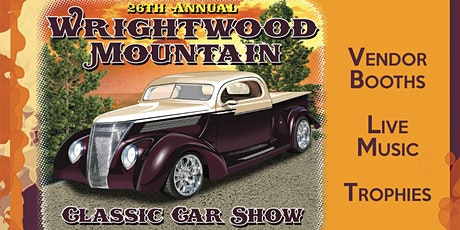 Wrightwood Mountain Classic Car Show tickets