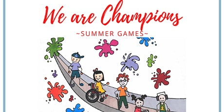 We are Champions- Summer Games tickets