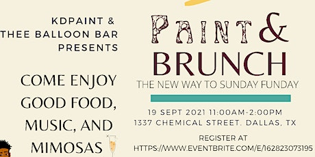 Paint & Brunch: Presented by KDPaint & Thee Balloon Bar tickets