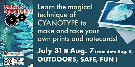 Cyanotype Workshop: Using the Sunlight to Make Unique Prints for Your Home tickets