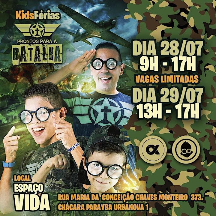 Imagem do evento Kids Férias - Campus SJC