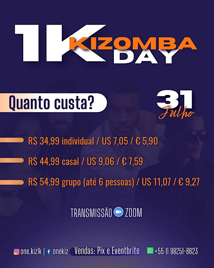 Imagem do evento 1K Kizomba Day