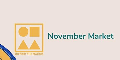 November Market tickets