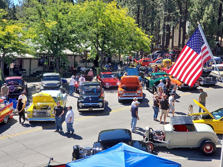 Wrightwood Mountain Classic Car Show image