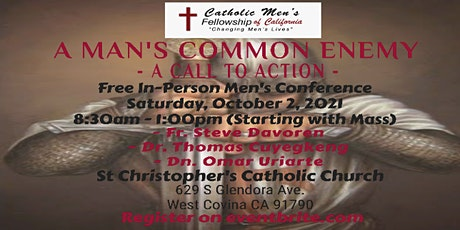 CMF - A Man's Common Enemy - A Call to Action tickets