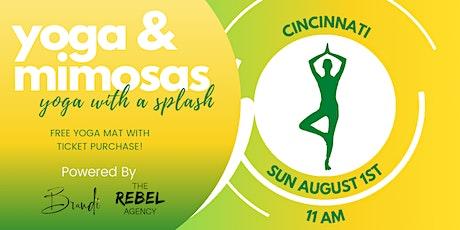Yoga & Mimosas- Cincinnati tickets