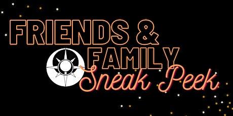 Friends & Family Sneak Peek  (Singer Songwriter & Comedy Night) tickets