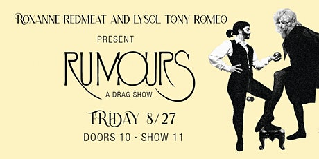 Rumours - A Drag Show tickets
