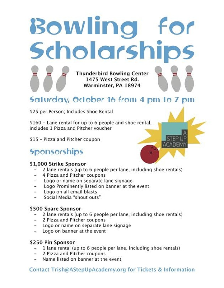 Bowling for Scholarships image