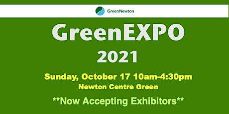 GreenEXPO 2021 Exhibitor Registration tickets