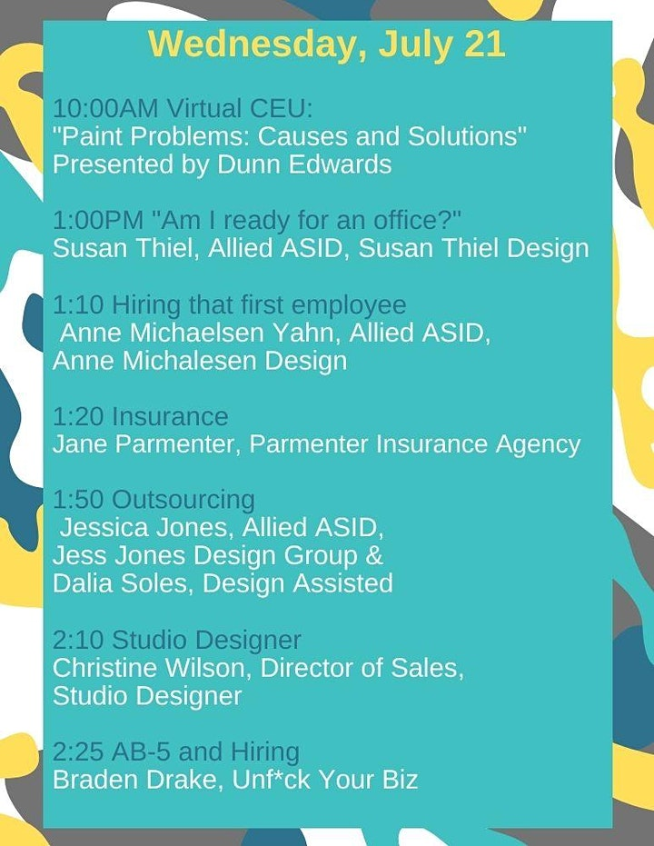 ASID OC Business Boot Camp & Virtual Expo image