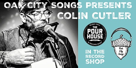 Colin Cutler in the Record Shop tickets