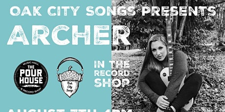 Archer in the Record Shop tickets