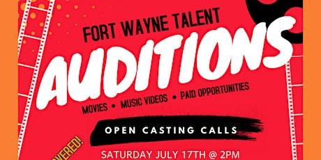 Open Casting Calls (Actors, Actresses, Models, Rappers, Singers) tickets