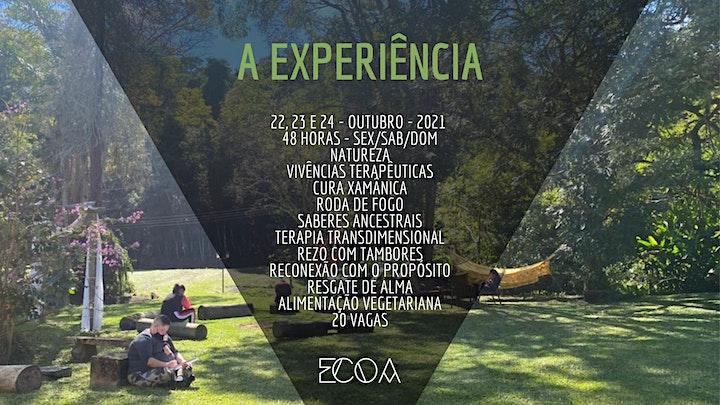Imagem do evento O CHAMADO - Experiência Transdimensional (Retiro ECOA)