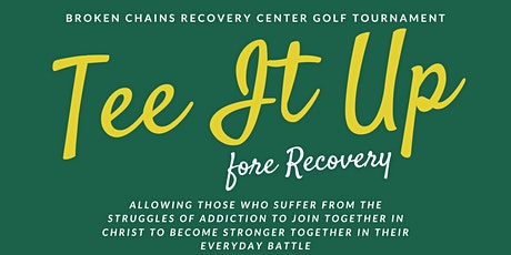 Tee It Up Fore Recovery tickets
