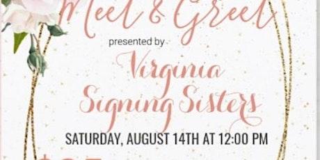 Virginia Signing Sisters Meet & Greet tickets