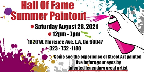 Food, DJs & Vendors with King Cre8 Paint-Out @ Five Points Youth Foundation tickets