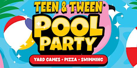 Teen & Tween Pool Party tickets