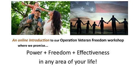Introduction to Operation Veteran Freedom workshop tickets