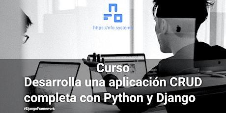 Desarrolla una aplicación CRUD completa  con Python y Django 3 entradas